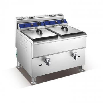Deep Fryer Snack Frying Frozen Potato Chips Production Line French Fries Processing Machine